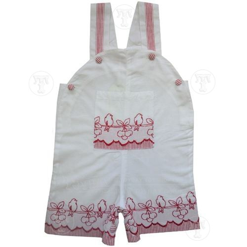 Birds and Cherries Shorts Dungarees