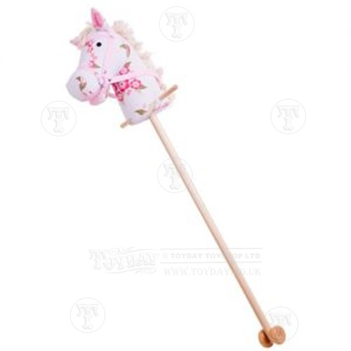 Pink Fabric Hobby Horse