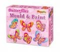 Mould and Paint Butterfly Magnets