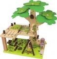 Wooden Tree House Play Set