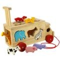 Safari Animal Shape Sorting Truck