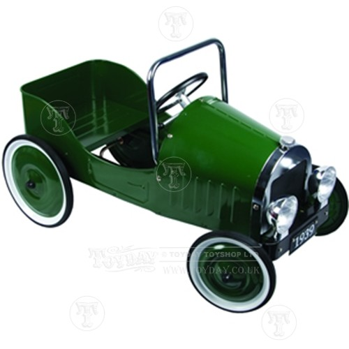 Classic British Racing Green Pedal Car