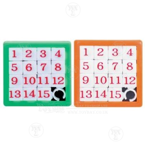 2 x Slide Number Puzzles